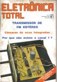 92e2577f78 Revista Eletronica Total - Revistas de Coleção no Mercado Livre Brasil