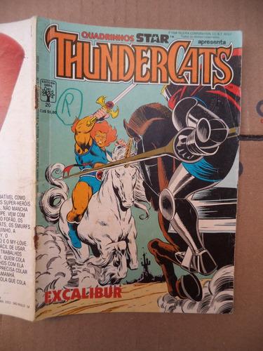 revista em quadrinhos dos thundercats nº 20 = maio de 1988 =