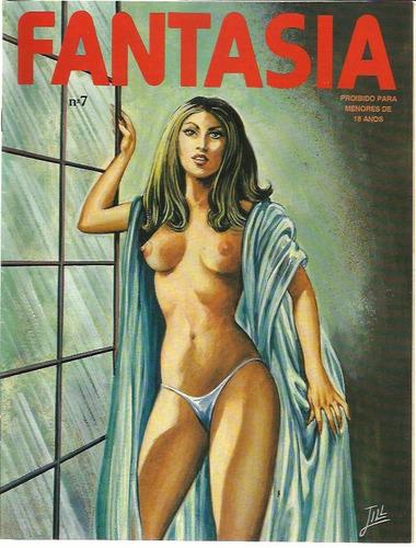 revista em quadrinhos fantasia n° 7