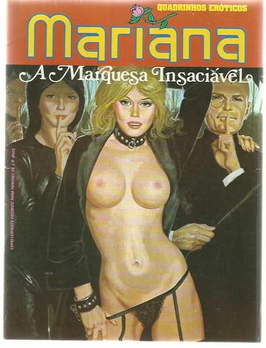 revista em quadrinhos mariana