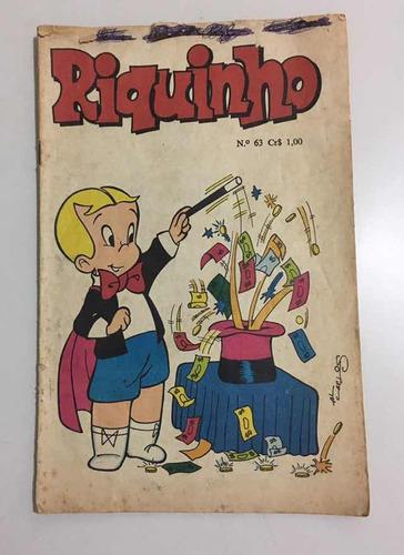 revista em quadrinhos riquinho - número 63