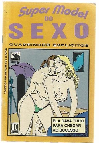 revista em quadrinhos super model do sexo