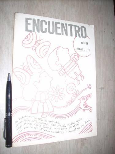 revista encuentro nº 8 1981 educación: otra mercancía bueno