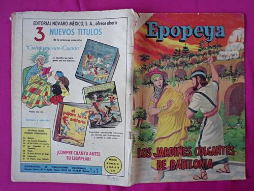 revista epopeya n° 33, 1961, los jardines de babilonia