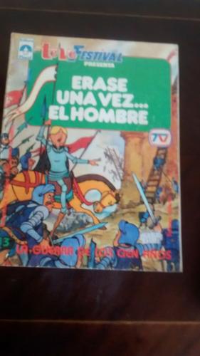revista erase una vez el hombre - teve festival  n°13 (618