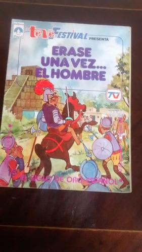 revista erase una vez el hombre - teve festival  n°15 (325w