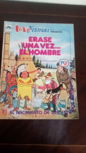 revista erase una vez el hombre - teve festival  n°21 (621