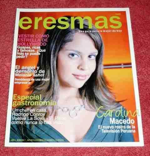 revista eresmás 2008 carolina macedo jennifer lópez pisco