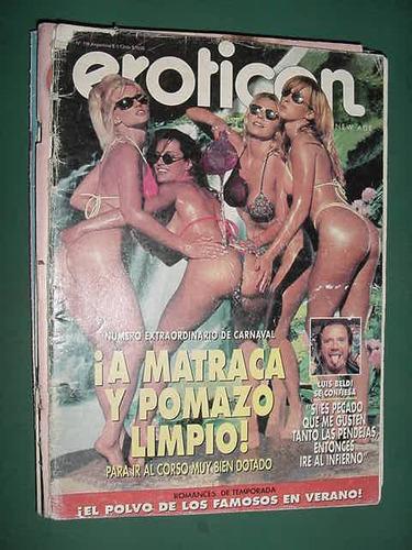 revista eroticon 138 carnaval sexo - recorte en una pagina