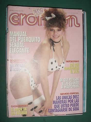 revista eroticon 92 sexo gomas sida puerquito masturbacion