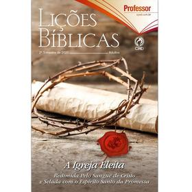 Revista Escola Bíblica Dominical - 2º Tri / 2020 - Professor