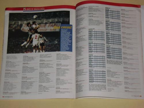 revista especial 25 años del campeonato brasileño placar
