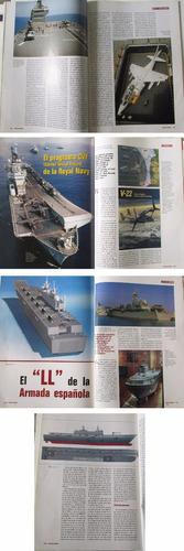 revista especial portaviones modelos jets militar