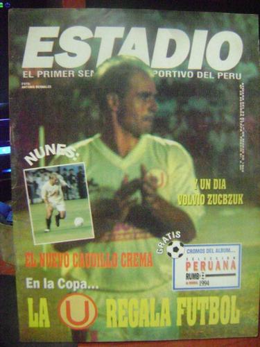 revista estadio       año 1993