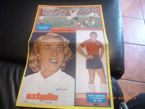 revista estadio anuario 1962  nº 1026 (457w
