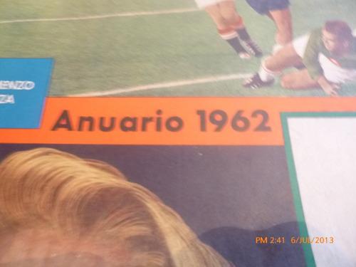 revista estadio anuario 1962  nº 1026 (469