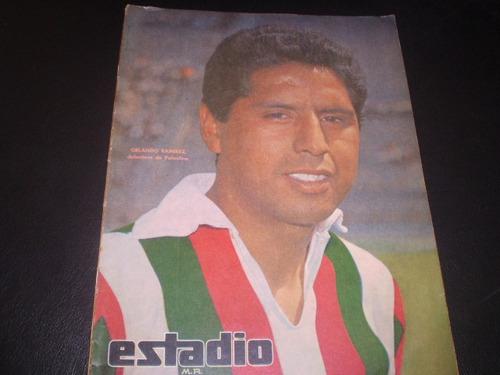 revista estadio delantera  de rangers de talca   1965 (538