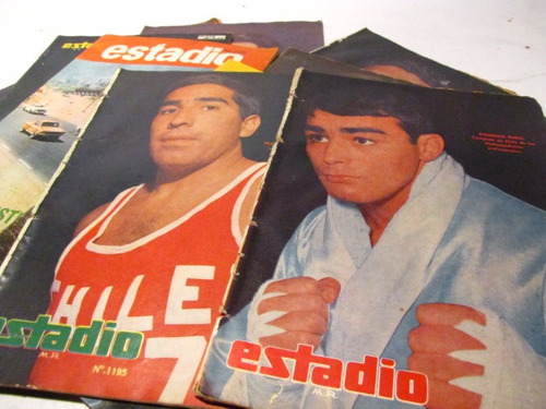 revista estadio lote, 1964 1970(11)