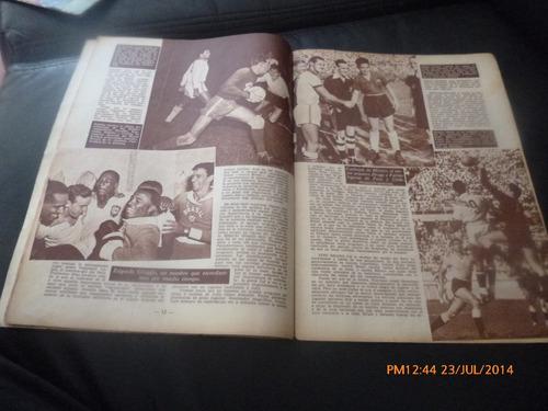 revista estadio n° 468 1952  chile vice campeon pana (r501
