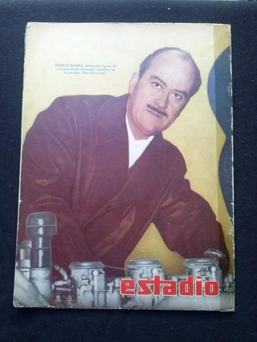 revista estadio n° 848 27 de ago de 1959 jose benito rios
