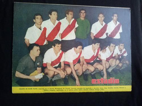 revista estadio n°1136 river plate  4 marzo 1965