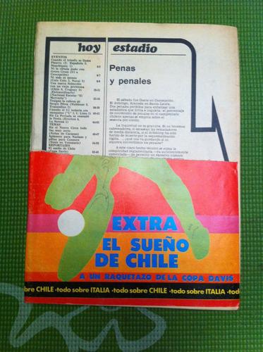 revista estadio nº1731 oct 1976 everton colo colo naval huac