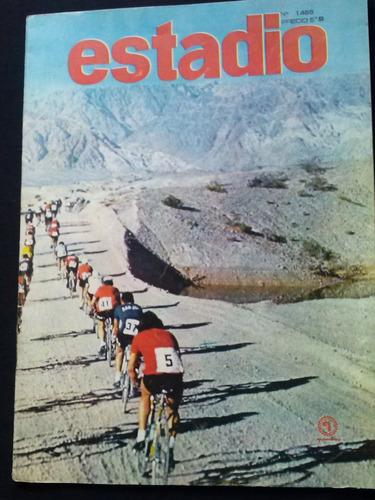 revista estadio numero 1488, año 1972