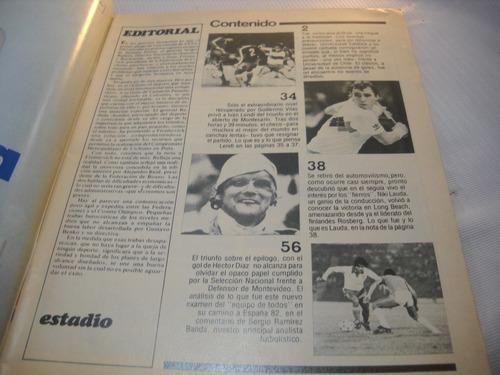 revista estadio universidad de chile 1982 (2)