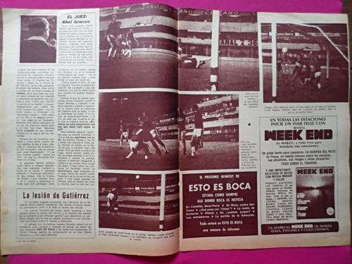 revista esto es boca n° 141 año 1976 boca vs colon