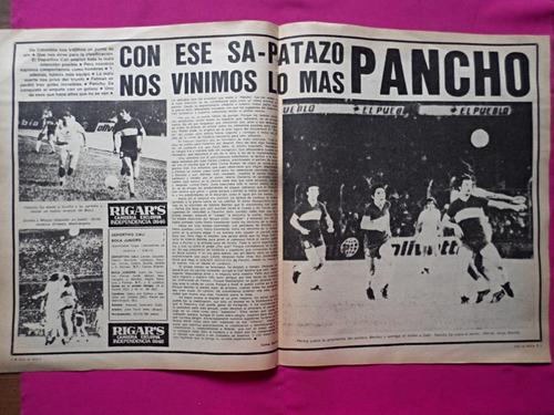 revista esto es boca n° 213 año 1977 boca 1 vs argentinos 0