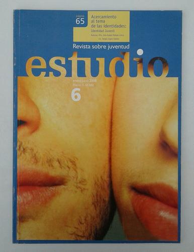 revista estudio. revista sobre juventud