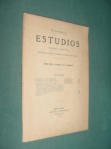 revista estudios 164 cristobal altamirano la curiosidad