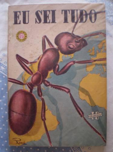 revista eu sei tudo nº 12 - maio de 1956