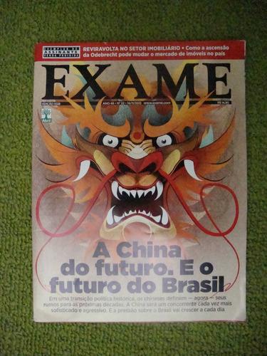 revista  exame   - a  china do futuro. e o futuro do brasil