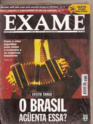 revista exame  - efeito tango. o brasil aguenta essa?