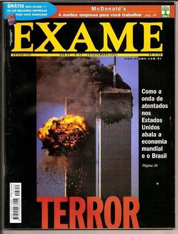 revista exame nº 749 - set /2001 - ótima - heroishq