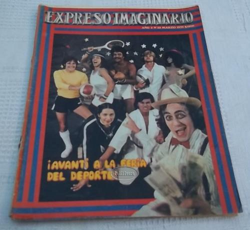 revista expreso imaginario n° 32 año 3 marzo 1979