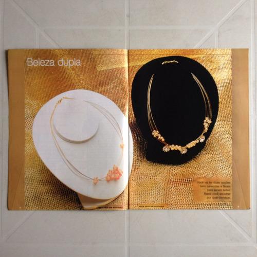revista faça arte bijuteria pulseiras chinelos colares