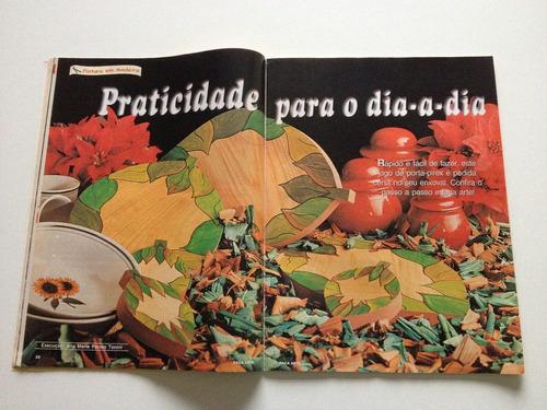 revista faça arte pintura cestaria de jornal sisal n°03