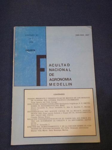 revista facultad de agronomìa vol 42 nº 1 - 1989