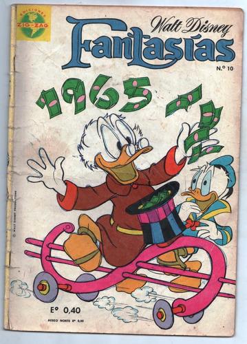 revista fantasías de disney año 1 n° 10.