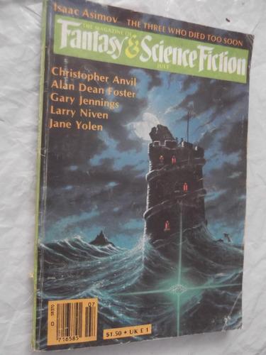 revista fantasy & science fiction july 1982 en ingles