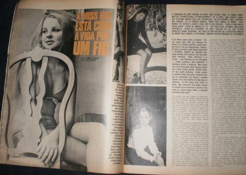 revista fatos e fotos 1968 roberto carlos ponte rio niterói