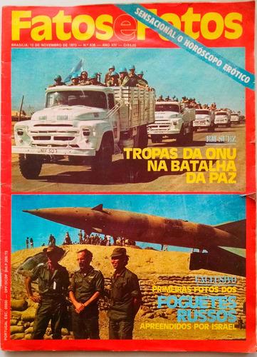 revista fatos e fotos 638 - novembro 1973