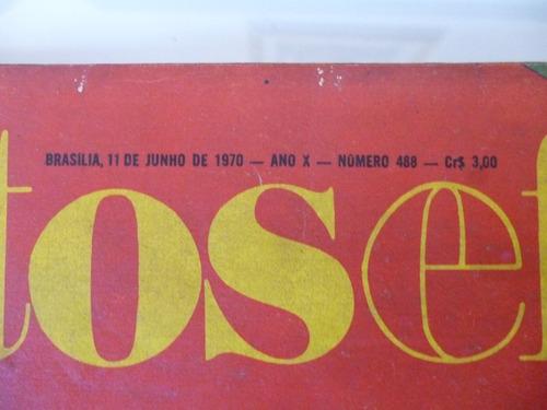 revista fatos & fotos - edição especial 1970