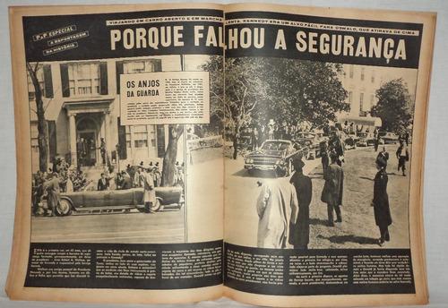 revista fatos & fotos nº 149 7/10/63 kennedy propaganda