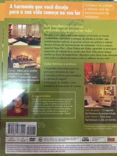 revista feng shui guia prático em dvd envio r$ 9,50
