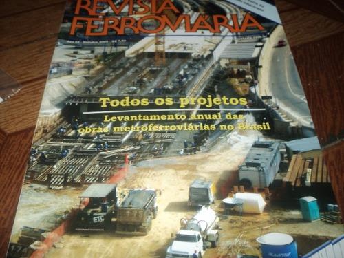 revista ferroviaria trem ano66 out.2005