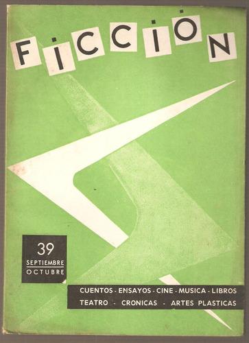 revista ficción nº 39 1962 drummond de andrade jaguaribe