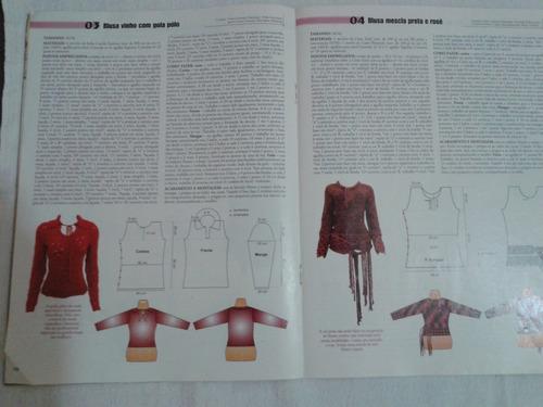 revista figurino tricot - inverno extra